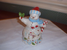 JIM SHORE -2018 PINT SIZED SNOWMAN HOLIDAY FIGURINE- NEW.