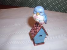 """JIM SHORE HEARTWOOD CREEK MINI BLUEBIRD -3.75""""H.NEW IN BOX"""