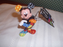 DISNEY -BRITTO-2020-MINI FIGURINE-MICKEY MOUSE-NEW IN WINDOW GIFT BOX