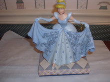 DISNEY TRADITIONS/JIM SHORE-2020 CINDERELLA TRANSFORMATION-NEW IN BOX