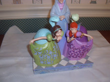 DISNEY TRADITIONS/JIM SHORE 2020 FIGURINE- LADY TREMAINE & STEP SISTERS.NEW IN BOX