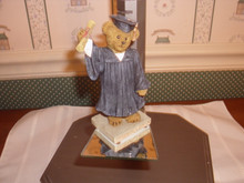 2013 BOYDS BEARSTONE FIGURINE-THE GRADUATE-NEW IN BOX
