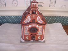 DEPT. 56-ALPINE VILLAGE-HOLY GHOST CHURCH-NEW IN BOX