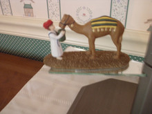 DEPT. 56 -LITTLE TOWN OF BETHLEHEM ACCESSORY- TENDING THE CAMELS.NEW IN BOX