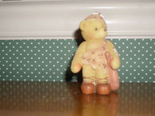 CHERISHED TEDDIES- HUNTER-BOY IN CAVEMAN COSTUME FIGURINE.--NEW