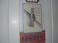 GALLERIE II- USA WALL PLAQUE-LIBERTY-NEW FOR 2019