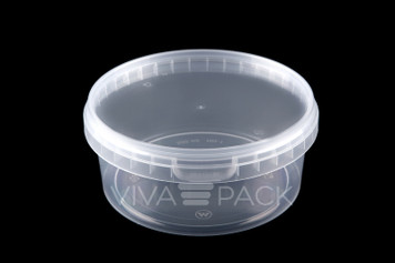 500ml Pot With Lid - 222 sets per box - 16.5p per pot and lid