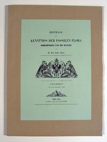 Rare Paleobotany Book: Andrae, Karl Justus; Beiträge zur kenntniss der fossilen flora Siebenbürgens und des Banates. 1855.