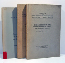 Trilobites, Ulrich, Ross: Three works on trilobites in the United States.