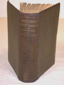 Rare Mineralogy Book: Phillips, William; An Elementary Introduction to Mineralogy.