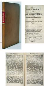 Rare Science book: William Stukeley, The Philosophy of Earthquakes, Natural and Religious
