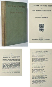 Rare Paleontology Book, Charles H. Sternberg; A Story of the Past