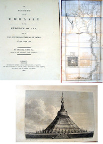Rare travel book, Michael Symes; An Account of an Embassy to the Kingdom of Ava. 1800.