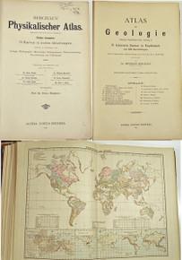 Rare atlas: Berghaus, Heinrich; Berghaus' Physikalischer Atlas. 1887-1892