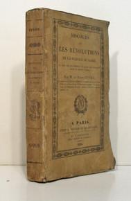 Rare Geology Book: Cuvier, Jean Leopold Nicolas Frederic (Baron); Discours sur les Revolutions de la Surface du Globe. Paris, 1825.