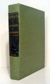 Rare Paleontology Book: Marsh, Othniel C.; Dinocerata, a Monograph of an Extinct Order of Gigantic Mammals. 1884
