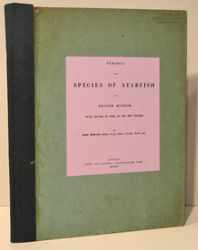 Rare Paleontology Book: Gray, John Edward, Synopsis of the Species of Starfish in the British Museum. 1866