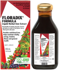 Floradix Liquid Herbal Iron Extract 250ml