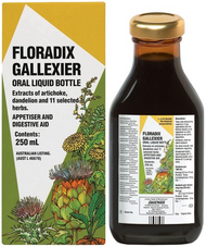 Floradix Gallexier Herbal Digestive Bitters 250ml