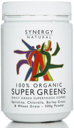 Synergy Super Greens 500g Organic