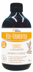 Blooms Bio Fermented Turmeric with Ginger and Black Pepper 500ml