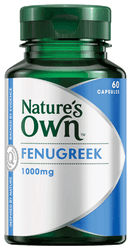 Nature's Own Fenugreek 1000mg 60 Caps