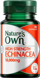Nature's Own High Strength Echinacea 10000mg 30 Tabs