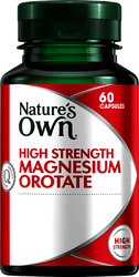 Nature's Own High Strength Magnesium Orotate 60 Caps