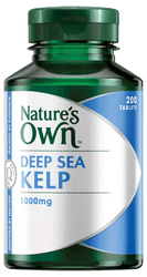 Nature's Own Deep Sea Kelp 1000mg 200 Tabs
