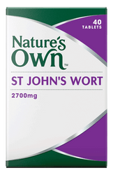 Nature's Own St John's Wort 2700mg 40 Tabs