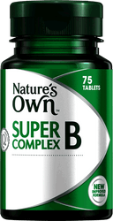 Nature's Own Super B Complex 75 Tabs