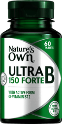 Nature's Own Ultra B 150 Forte 60 Tabs