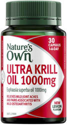 Nature's Own Ultra Krill Oil 1000mg 30 Caps