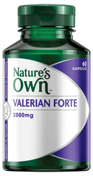 Nature's Own Valerian Forte 2000mg 60 Caps