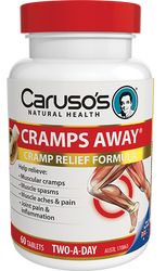 Caruso's Natural Health Cramps Away 60 Tabs