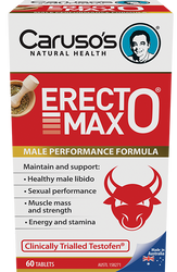 Caruso's Natural Health ErectoMax 60 Tabs