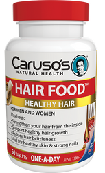 Caruso's Natural Health Hair Food 60 Tabs