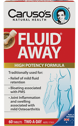 Caruso's Natural Health Fluid Away 60 Tabs