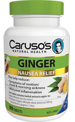 Caruso's Natural Health Ginger 100 Tabs