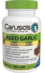 Caruso's Natural Health Aged Garlic Odourless 60 Tabs
