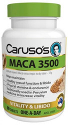 Caruso's Natural Health Maca 3500mg 60 Tabs