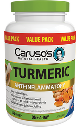 Caruso's Natural Health Turmeric 150 Tabs