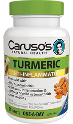 Caruso's Natural Health One a Day Turmeric 50 Tabs