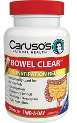 Caruso's Natural Health Bowel Clear 30 Tabs