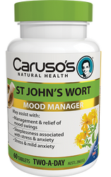 Caruso's Natural Health St Johns Wort 60 Tabs