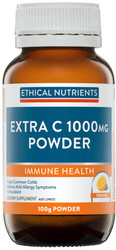 Ethical Nutrients Extra C Powder 1000mg 100g