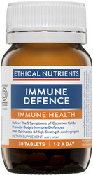 Ethical Nutrients Immune Defence 30 Tabs