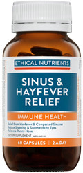 Ethical Nutrients Sinus & Hayfever Relief 60 Tabs