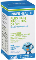 Ethical Nutrients Inner Health Baby Probiotic Drops 8ml