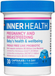 Ethical Nutrients Inner Health Pregnancy and Breastfeeding 30 Caps